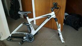 Scott genius frame and forks plus extras (rear shock needs replacing)