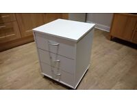 White Office Drawers