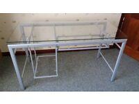 Stylish glass desk for sale