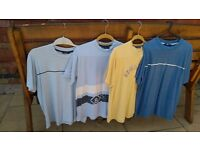 MENS T SHIRTS FOUR IN TOTAL.