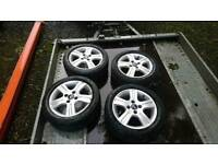 Alloy wheels Ford fiesta