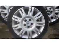 "Ford Mondeo MK3 17""Four alloy wheels"