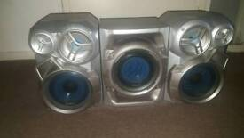 Speakers with sub woofer