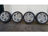 Vauxhall Insignia GENUINE 18 '' alloy wheels + 4 x tyres 245 45 18
