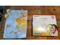 Medela Swing Maxi Double Electric Breast Pump + accessories