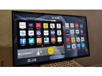 LUXOR 43 inch smart FULL HD led tv with wifi, freeview play, freeview hd, screen mirroring