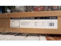 Electric Projector Screen 96 inch BNIB