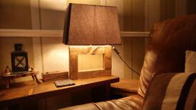 Rectangular Large Table Lamp