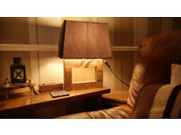 Rectangular Large Table Lamp