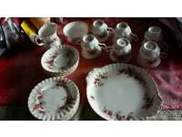 6 piece Royal Albert tea set in good condition