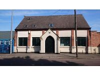 Light Industrial/Workshop/Studio/Office Unit to Let. Approx 2500 Sq ft spread over 2 floors