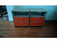 Olympic bedside cabinets( came from Olympic village.