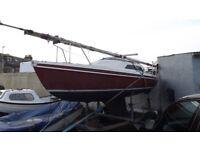 Hunter Europa Yacht, sailing boat & trailer