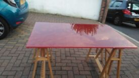 Good quality table, free local delivery, use when needed easy storage
