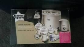 Steriliser & Milk machine