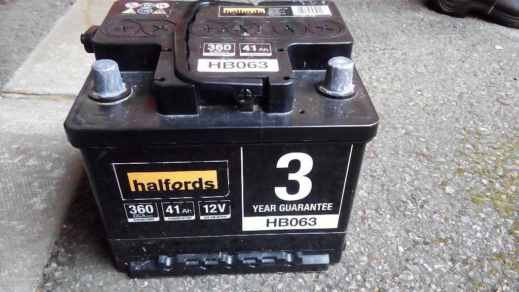 Halfords Car Battery Check