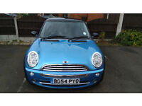 Mini, Service History, 55k Warranted miles.Full Leather Interior.