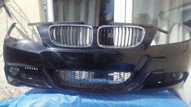 BMW 3 SERIES - MSPORT - LCI - FRONT BUMPER - (E90 / E91) -- COMPLETE