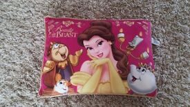 Disney Princess Belle/ Beauty and The Beast Pink Cushion