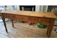 Dressing table/hall/sofa table/ kitchen island table