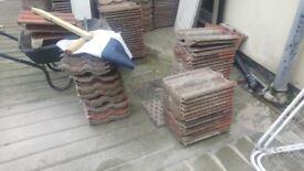 Used marley c8ncrete roof tiles