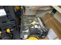 Bostitch 20ltr compressor + accessories