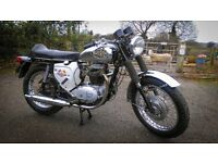 BSA A65T 650cc Thunderbolt 1970 export model - Historic Vehicle Tax Exempt