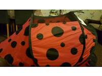 Lady bird kids play tent
