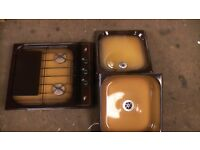 Caravan/Motorhome hob,grill sink assembly