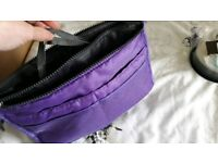 Bag organiser purple