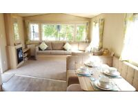 2 BEDROOM STATIC CARAVAN FOR SALE, NO SITE FEE'S TO PAY TILL 2018