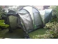 7 man 3 bedroom tent. Porch extension. Tent footprint
