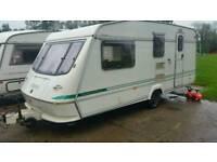 Elddis 4 berth caravan 1998