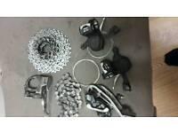 Shimano XT gearset