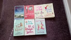 Seven Jane Costello books