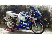 Suzuki 2001 (Y-Reg) GSXR 600 K1 GSX-R Gixxer Supersport Blue White *Low Mileage Excellent Road Track