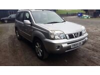 breaking silver nissan xtrail 2.5 petrol manual 4x4 gas conversion lpg parts spares KY0