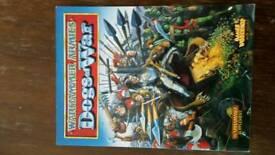 Rare Warhammer armies book - Dogs of War
