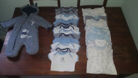Baby clothes bundle newborn and 0-3 months