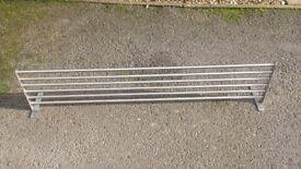 Ikea Grundtal stainless steel shelf (Used)
