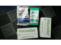 Naturediet dog food and dry food