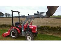 Man with Tractor to tidy up Horse Paddocks & Fields