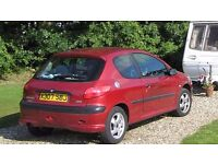 Peugeot 206 XS (2000) at good price for quick sale.