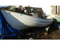 17ft pebble boat