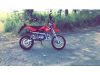 125cc road legal pit bike
