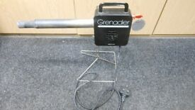 grenadier electric 240v log and bbq lighter. this is invaluable for a bbq, or lighting your fire