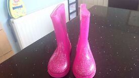 Selection of girls footwear