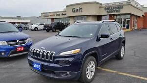 2016 Jeep Cherokee 4X4 LATITUDE   6 CYL   COLD WEATHER GROUP  