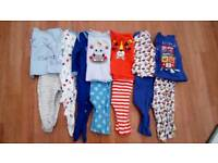 3-6 months baby boys sleep bundle