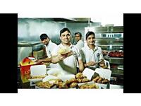 Experienced fast food staff required